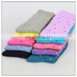 dots pattern socks for ladies