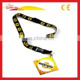 Printed Polyester Custom ID Card Holder/ Neck Strap Lanyard