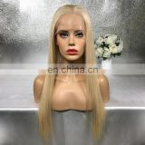 Short And Long Straight Brazilian Remy Hair Lace Front Wig Blonde Human Hair Full Lace Wigs With Baby Hair For Women