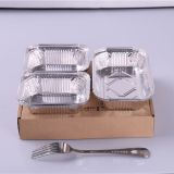 930ml Takeaway Disposable Food Grade Aluminium Foil Container