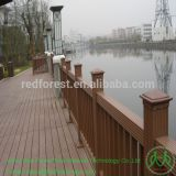 WPC decking wall panel board/fencing board/ outdoor plastic wood composite floor