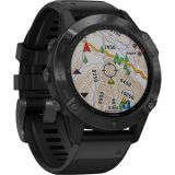 Garmin fenix 6 Multisport GPS Smartwatch (47mm, Pro, Black / Black Band) Price 130usd
