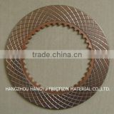 Front shovel excavator spare parts brake friction plate