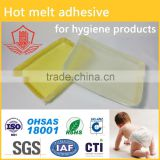 hot melt adhesive for hygiene products