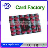 EM4305 read write blank 13.56mhz hf rfid card with serial number