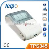 Telpo TPS345 58mm mini Portable Handheld Bluetooth Thermal Printer support android phone and tablet