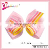 Wholesale ribbon bow hair clips boutique bow hair jewelry,make hair accessories for children