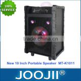 2015 Portable Trolley Karaoke Stage Speaker with Colorful Ball Light