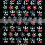 color nice quality face nail stickers