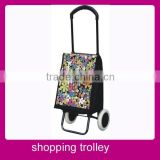 Eco-friendly foldable used supermarket trolley