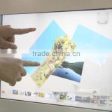 tranparent display showcase vitrine interactive