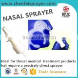 Custom any color 18 410 18 415 20 410 fine mist sprayer nasal sprayer atomizer pump sprayer for medical treatment bottle