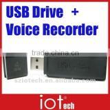 Long time Voice Recording USB Drive