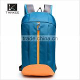Light blue or black oxford sports backpack china wholesale