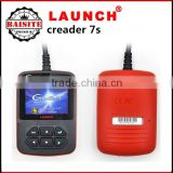 2016 High quality Original Launch X431 Creader 7S OBD II Code Reader + Oil Reset Function with good feedback