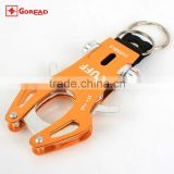 Large Aviation Multifunctional Aluminum Carabiner Camp Snap Clip Tiger buckle