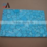 luxury Turquoise stone slab with green