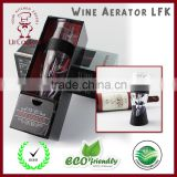 Professional Decanter with Stand Efficiently Aerates Red Wines with No Leaks or Overflow