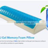Multifunction Memory Foam Neck Shoulder Foot Cooling Gel Pillow