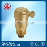 threaded end brass exhaust valve/air venting valve