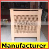 wholesale home furniture design customized wooden/MDF radiator cabinet mesh cover