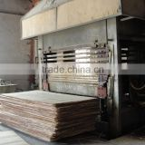 supply plywood hydraulic parquet floor making hot press machine / hydraulic hot press machine