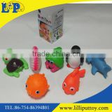 Classic baby bath toys sea world Water spray toys for bathing