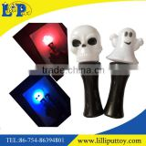Hot saelling Halloween milky flash wand with battery