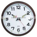 wall mounted clock, plastic decorative wall clock, home design