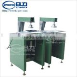 PVC cylinder lid/bottom flying cutter