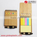 memo notepad,Wooden sticky memo pad,Bamboo sticky note with Pen                                                                         Quality Choice                                                     Most Popular