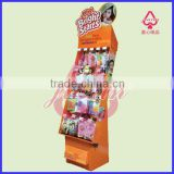 Cardboard hanging wall hooks Display and Shelf Stand for Feeding bottle with Embossing, Glossy, Matte Lamination