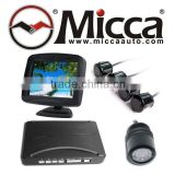 3.5'' TFT Rearview Monitor Parking Sensor System with Camera, Monitores Multimedia de Retrocesos con Camara(PS353)