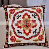 cotton cushion covers, handmade canvas towel embroidery decorative covers