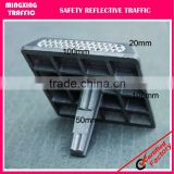 43 glass bead aluminium road stud,one side and two sides pavement road stud