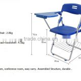 Folding plastic traning chair with writing table conference room table chair sets wholesale alibaba