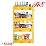4 layers Plastic Sundries Shelf, four-layer storage shelf fridge plastic rack for kitchen and bathroom