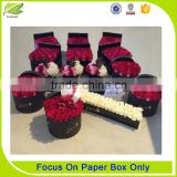 2016 customized elegant flower paper gift box                                                                         Quality Choice