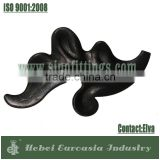 Wrought Iron Accessories Leaves