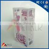Plastic Packaging for massager oil, packaging plastic for bottle,plastic packaging box for phone case