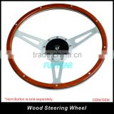 Universal Wood Steering Wheel