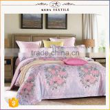 Alibaba china manufacturer 100% cotton reactive printing 300TC wholesale luxury bedding set