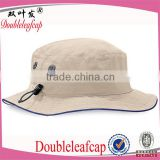 Custom Printed Boonie Bucket Hat With Flexfit Rope Promotional Mens Plain Bucket Hat Wholesale
