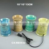 fashionable porcelain round electric wax warmer