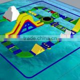 inflatable floating water park game for adults and kids/amusement aquatic parks equipment