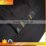 Wholesale Very Cheap 100% Virgin Silky Straight Brazilian PU Hair with Tangle and Shedding Free