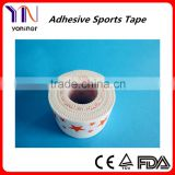 Fashionable printed cotton sports tape CE certificated