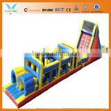 Inflatable wipeout, inflatable game obstacle course