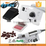 Electric Nail Drill Kit Set Art File Bit Acrylic Manicure Pedicure Band, Low Noise and Vibration, Fuse Replaceable