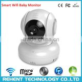 High Quality Two way Audio HD Wifi IP Camera Baby Monitor Support Motion Detection APP Push Video Snapshot